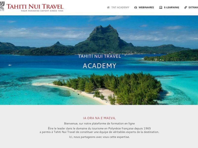 Gestion de projet : création de la Tahiti Nui Travel Academy