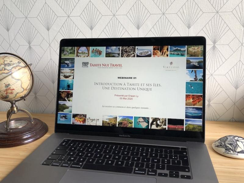 Lancement d'un programme de webinaires sur Tahiti et ses îles